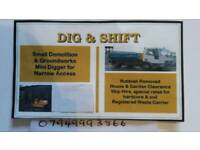 Dig & shift rubbish removals tel 07949993866