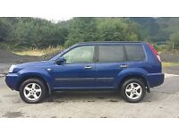 NISSAN XTRAIL 2.1 DCI 6 SPEED MANUAL.
