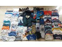 Baby Boy Clothes Bundle 6-12 mths – 147 pcs
