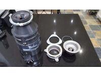 Kitchen sink - in sink erator - food waste disposer