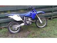 YAMAHA YZ250F SWAP OR SALE