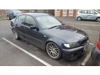 "BMW E46 320D M Sport Saloon, Individual, Leather Interior, 19"" CSL Alloys"