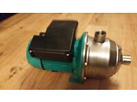 NEW WILO ECONOMY MHI 203 EPDM MULTISTAGE HIGH PRESSURE WATER PUMP SINGLE PHASE FREE DELIVERY