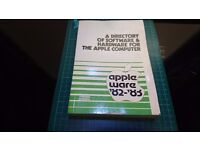 Vintage Apple Ware 1982 - 1983 A Directory of Software & Hardware for the Apple Computer