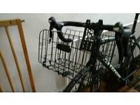 Folding bike / bicycle basket