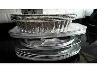 Brand new job lot party foil trays