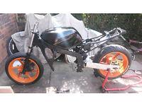 honda cbr600 f3 track bike project