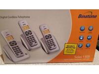 Binatone cordless phone x 3