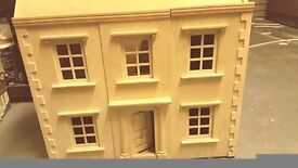 large very detailed wooden dolls house £30 QUICK SALE NO OFFERS - lego prams girls kids baby eta