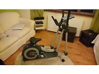 Ennis fitness cross trainer/bike