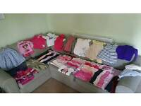 Large bundle of girls 12-18 months clothes excellent