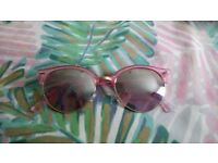 Pink Reflective Sunnies