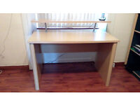 "OFFICE DESK PINE WOOD WIDTH 47"" DEPTH 30"" HEIGHT 30"" EXCELLENT CONDITION"