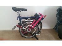 For sale: Brompton bike