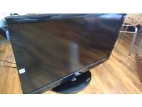 "LG 42"" LCD HD TV, MODEL: 42LG3000, HDMI, FREEVIEW + STAND & REMOTE FULLY WORKING. COLLECTION ONLY"