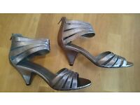 Brand new ladies gladiator style high heeled sandals, Size 9.