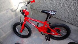 Halford 16 inches bike as new