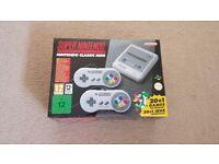 SNES (Super Nintendo) Classic Mini - Brand New