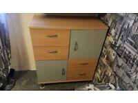 Drawers/cupboard