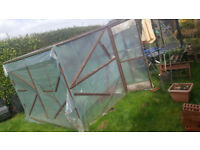 GreenHouse or solid construction for a shed