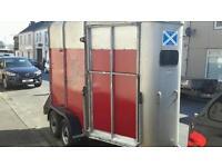 Ifor williams 505hb horse trailer front unload good brakes lights tyres no vat