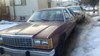 Classic 87 Crown Vic Maroon