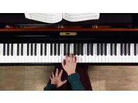 Piano and music lessons!