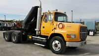 1995 Ford L9000 T/A KNUCKLE PICKER -