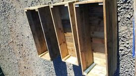planters / bedding plants, garden boxes / window boxes - any size available. new WOODEN