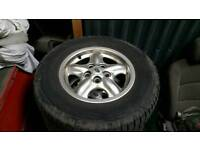 Discovery 2 alloy wheels