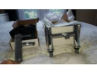 Bathroom mixer tap set sink and bath brand new in box's