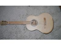 Classical Guitar Handmade Flamed Ash