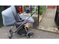 Bebecar Prive Ip-op pram/buggy. Very stylish. RRP £600
