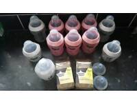 Tommee tippee bottles and new teats