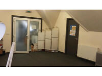 Office space to rent in idyllic location, bathroom, shared kitchen 383sq ft £500 pcm
