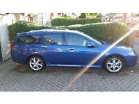 Honda Accord Tourer Executive top spec 2.0 Estate petrol blue manual