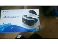Mint Condition :playstation 4 VR headset