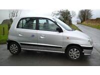 Cheap small auto hyundai amica x reg, mot july, automatic, low miles