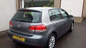 VW Golf 2.0 TDI Match 2012 (62 Reg)