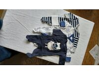 baby boy clothes newborn up to 1 month, NEXT like new