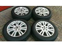 GENUINE LAND ROVER RANGE ROVER 19 INCH ALLOY WHEELS 5X120 SPORT VOGUE DISCOVERY T5 T6 VW