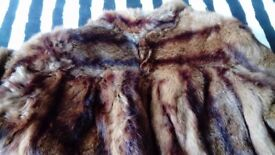 Real coney fur coat for sale