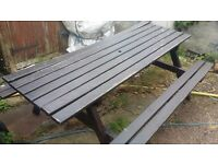 Picnic bench good condition