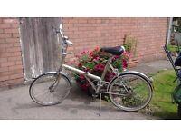 Classic shopper bike , Raleigh Stowaway