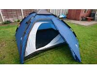Trespass 4 man rapid pop up tent