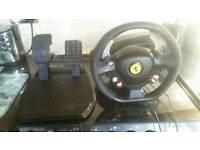 X box steering wheel