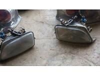 Saxo front fog lights and rear Lexus lights