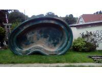 Fish lovers- we have a large Fibreglass pond liner for sale.