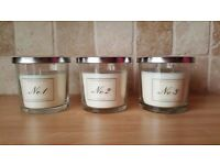 Aldi luxury candles very similar to Jo Malone