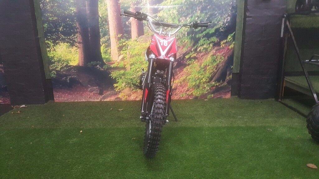 125cc dirt bike - pit bike